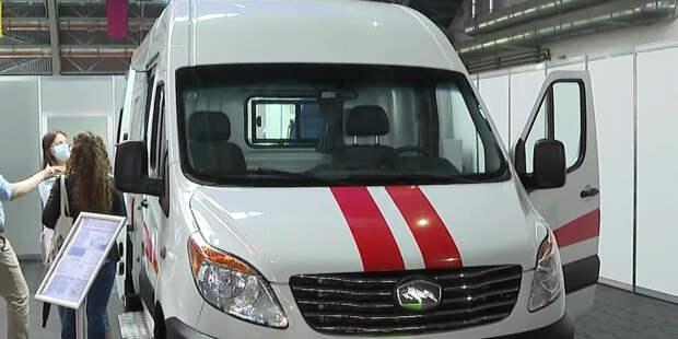 МАЗ представил машину скорой помощи на международной медицинской выставке в Минске