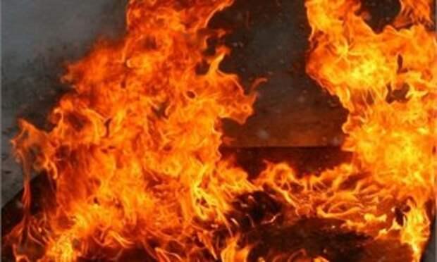 Сегодня при пожаре в Орловском районе погибли мужчина и женщина