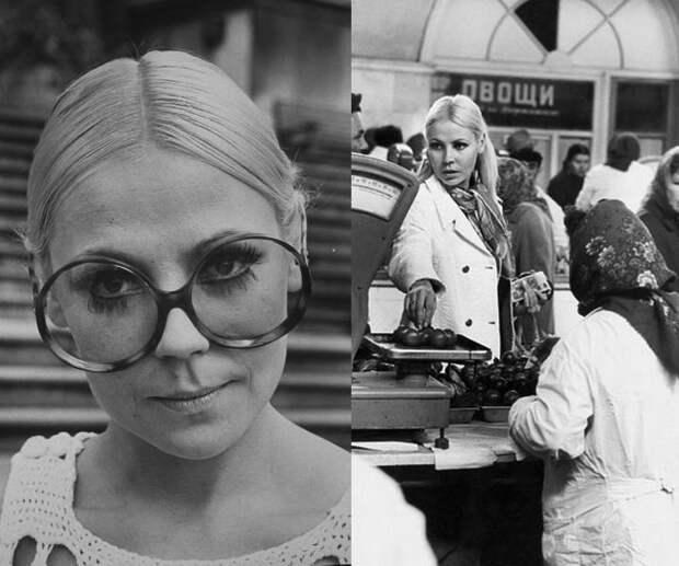 Мила Романовская манекеншицы, модели, советский союз