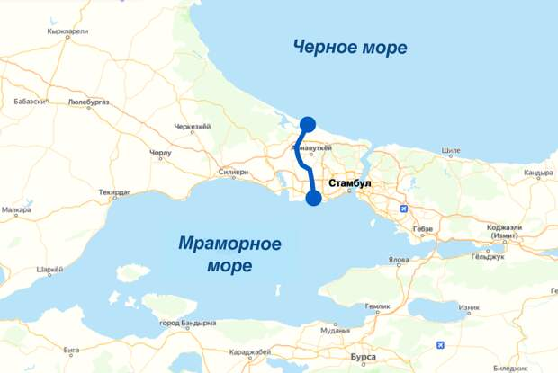 Зачем Эрдоган роет канал в Черное море, если у него уже есть Босфор