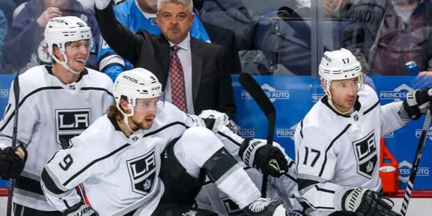 «Лос-Анджелес» победил «Детройт» в матче НХЛ