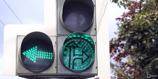 На Кольской вместо «лежачих полицейских» установили светофор