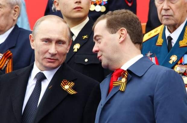 Операция «Преемник»: в 2024 году Путина может вновь «подменить» Медведев