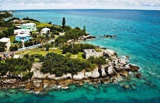 Красивейшее место: Бермудские острова.