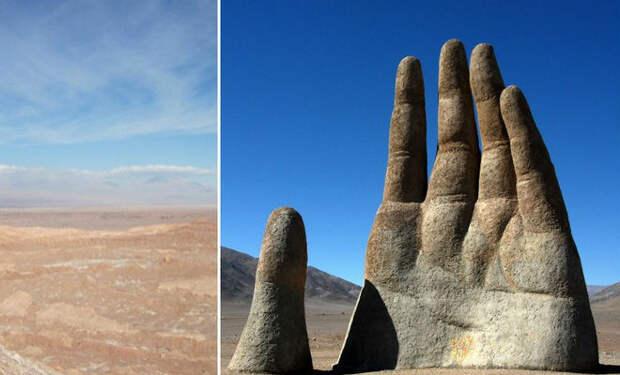 10 мест в пустынях, которые не объясняются наукой
