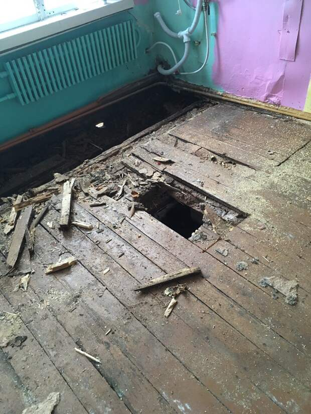 «Аварийный» детский сад в Люкшудье осмотрела министр образования Удмуртии
