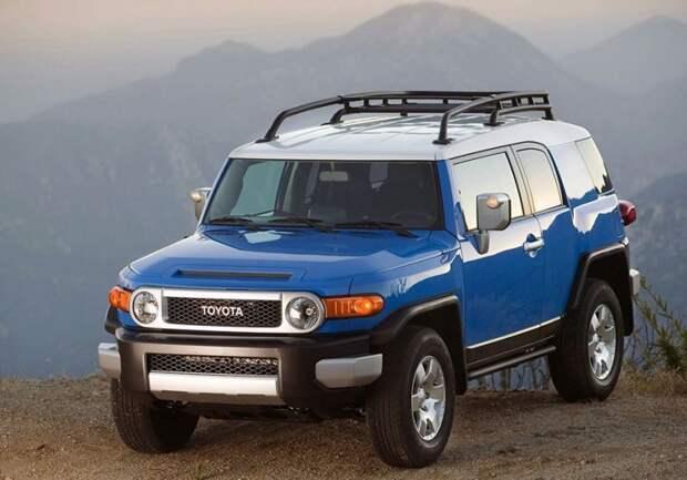 Toyota FJ Cruiser авто, автодизайн, внедорожник, вседорожник, джип, дизайн, япония, японский автопром