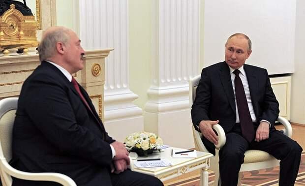 Встреча Путина и Лукашенко продолжалась почти четыре часа