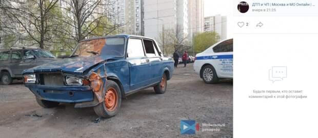 На 800-летия Москвы подростки разбили шесть автомобилей
