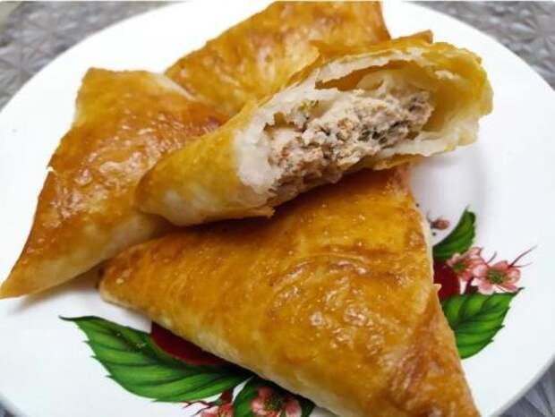 Самая вкусная самса из лаваша — много мяса, мало теста. Этот рецепт многие не знают, а зря