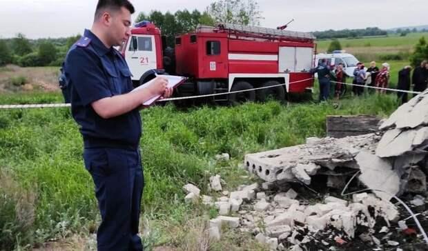 Три ребенка погибли врезультате обрушения недостроя вВоронеже