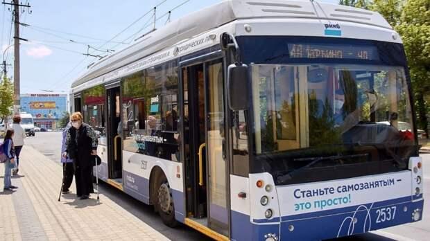 Минтранс РК: Троллейбус №4-А начал курсировать по новому маршруту «Марьино – Арабатская» в Симферополе