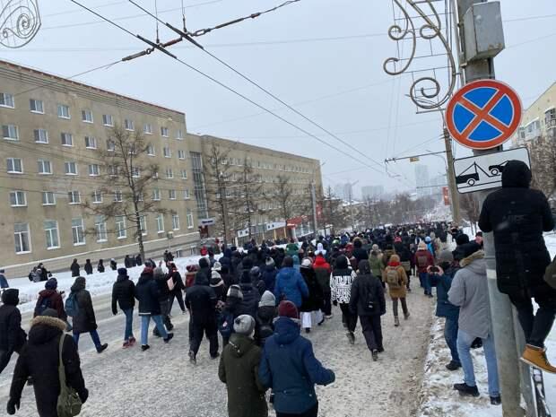 В Ижевске возбудили уголовное дело из-за массового выхода людей на дороги в день митинга
