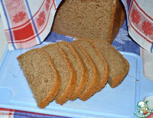 """Ржаной хлеб """"Без ничего"""""""