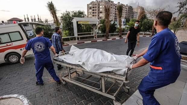 Сектор Газа заявил о 115 погибших при атаках Израиля