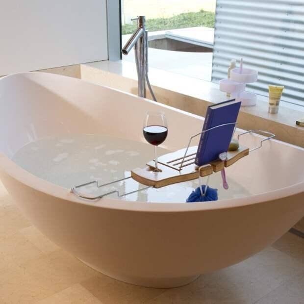 Функциональный поднос для ванны