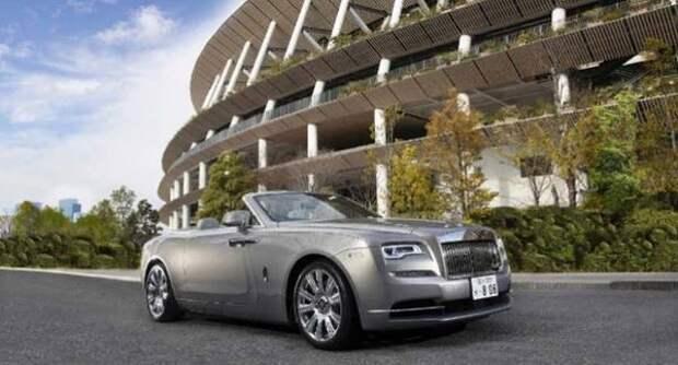 Rolls-Royce представил особую версию модели Dawn