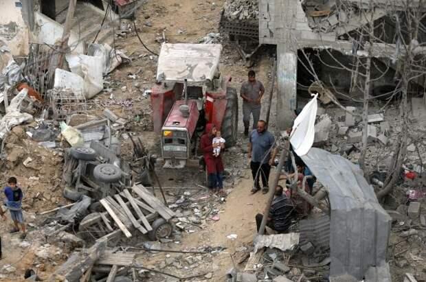 МИД России удовлетворен перемирием между Израилем и Палестиной