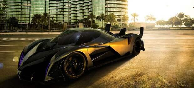 5000-сильный арабский гиперкар Devel Sixteen Devel Sixteen, гиперкар, суперкар