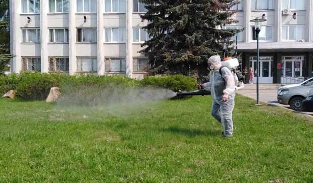 Неприсосется: нижегородские парки искверы начали обрабатывать отклещей