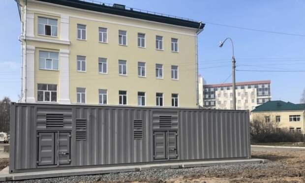 ВАрхангельской областной клинической больнице запустили кислородную станцию