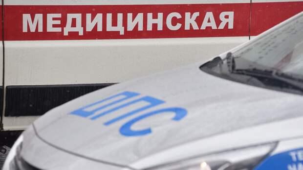 Водитель Mercedes пострадал при столкновении с Honda в Новосибирске
