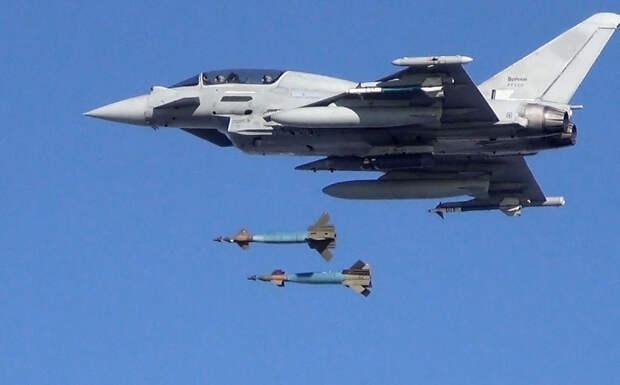 Британские Eurofighter Typhoon сбросили управляемые авиабомбы на военные объекты Ирака
