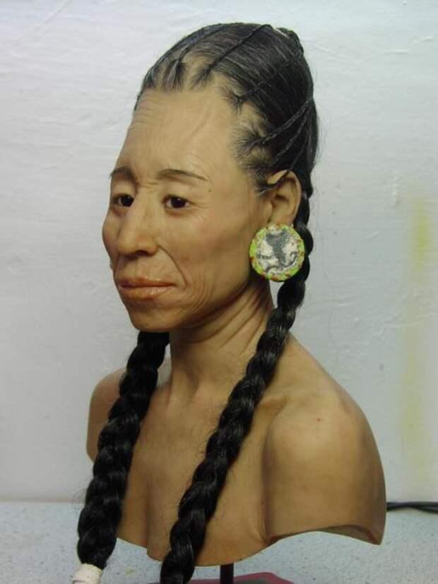 Реконструкция внешности женщины культуры Наска. | Фото: praeparator.ch.