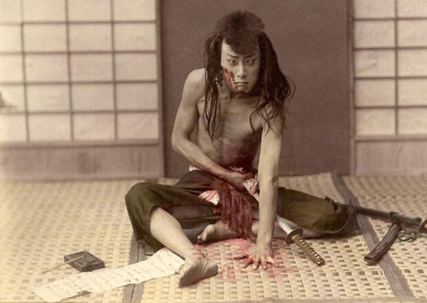 Японские самураи 130 лет назад