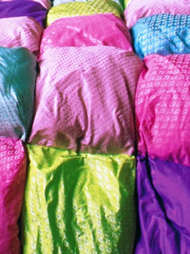 Французское одеяло-покрывало (diy)