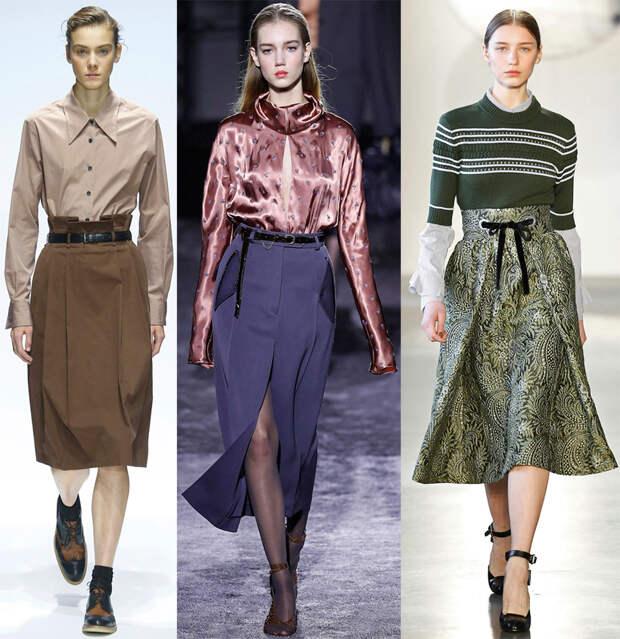 Модные юбки 2016-2017 – самое подробное руководство