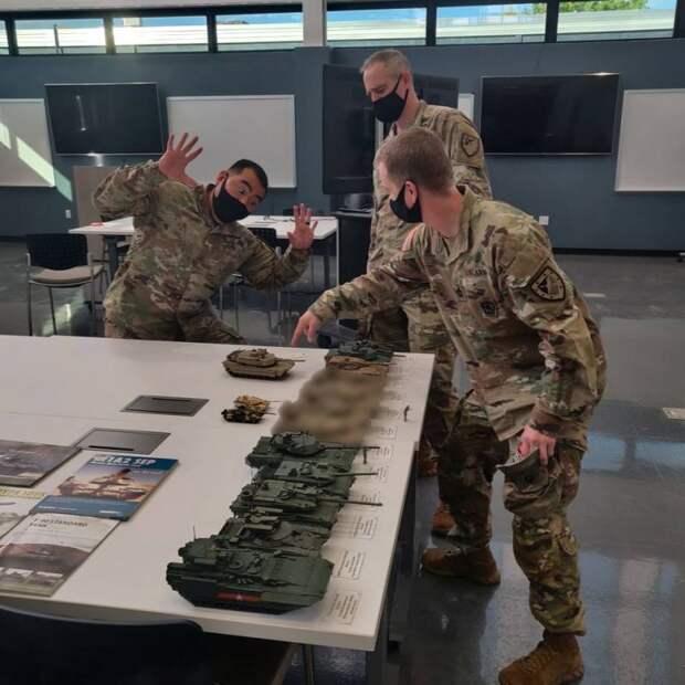 Программа OMT: неизвестный танк и известные методы