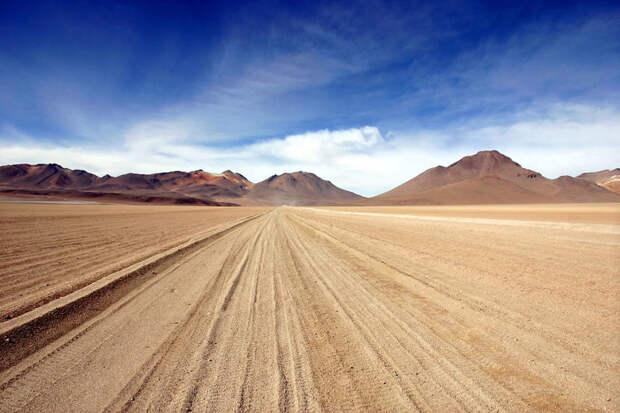 Боливийский пейзаж красота, путешествия, фото