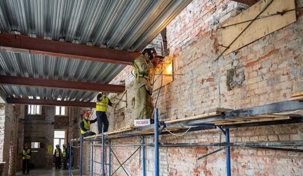 В травматологическом комплексе больницы имени Пирогова начался ремонт