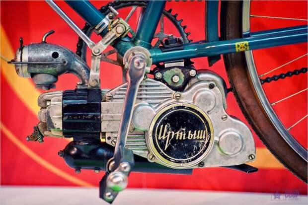 Советские велосипеды с мотором