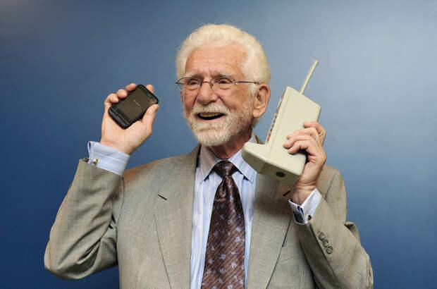 8. Мобильный телефон изобретения, история, факты