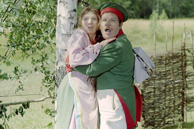 Кадр из фильма «Иван Бровкин на целине»