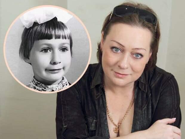 Мария Аронова в наши дни и в школьные годы   Фото: teleprogramma.pro