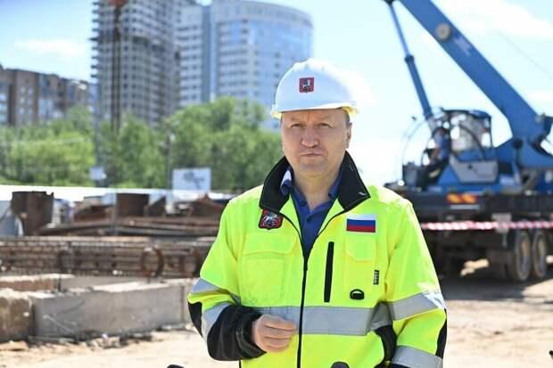 Андрей Бочкарёв: Участок ЮВХ от Курьяновского бульвара до Кантемировской улицы готов более чем на треть