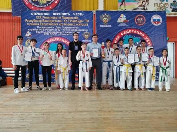 Демская команда тхэквондистов в очередной раз стала одной из лучших в Республики Башкортостан