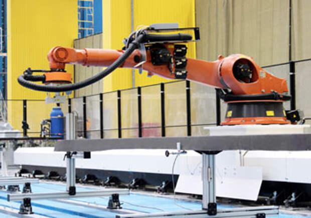 Роботизированное оборудование для проведения неразрушающего контроля