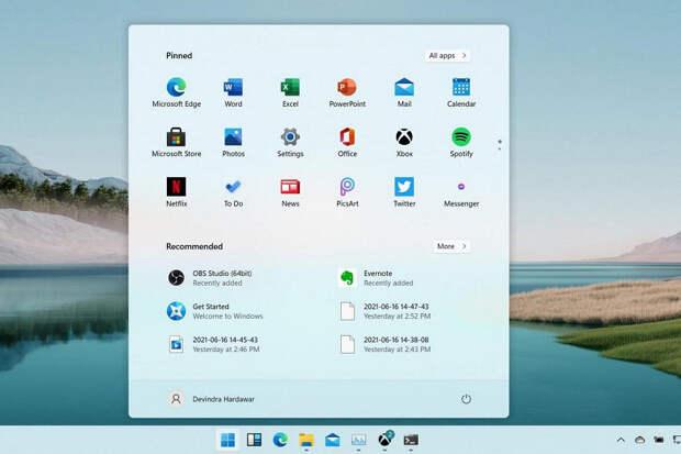 Рано расстраиваться дизайну и производительности Windows 11. Попавшая в Сеть версия является незаконченной ранней сборкой
