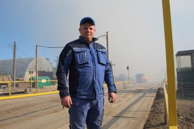 Опубликованы фото людей, тушивших свалку в Рязани