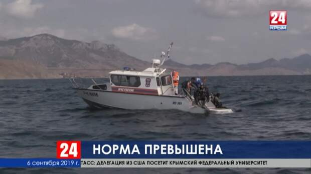 На затонувшем под Судаком катере количество пассажиров превышало норму