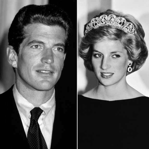 Джон Кеннеди младший и принцесса Диана. \ Фото: nexter.org.