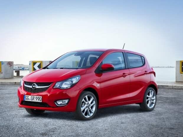 Opel выпустит электрическую версию Karl