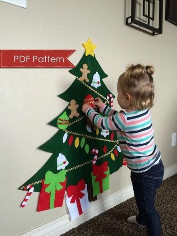 Пусть в этот Новый Год ваш малыш сам нарядит ёлку!