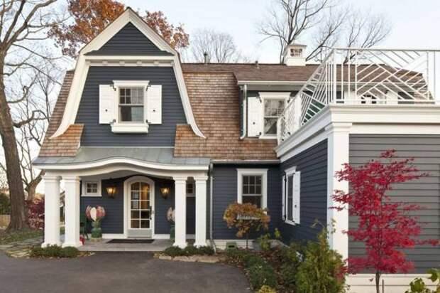 Как подобрать цвет фасада - лучшие идеи, советы и фото