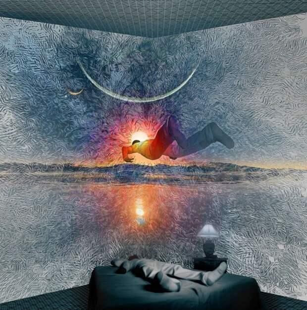Г.Бореев о практике астральных проекций во сне.