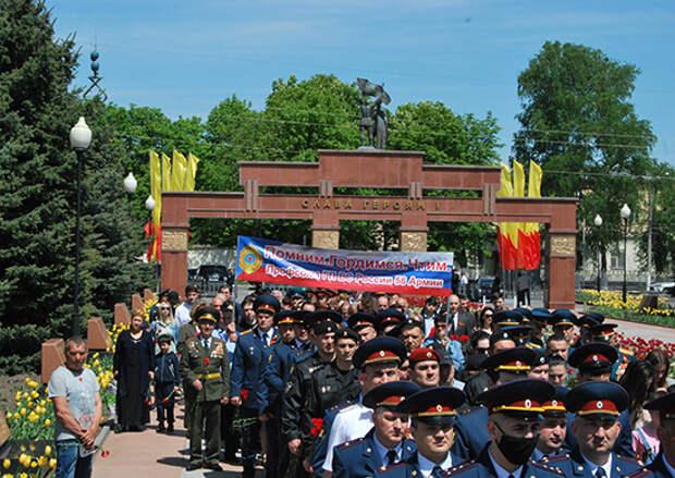 В десяти городах на территории ЮВО прошли памятные мероприятия в рамках акции «Дорогами Победы»